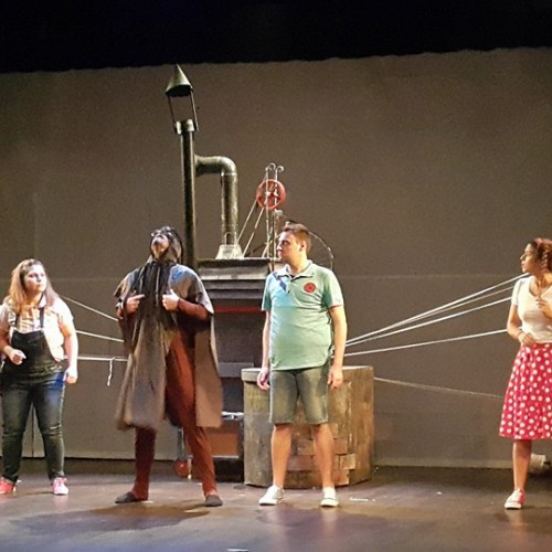 Ένα γοητευτικό μουσικό παραμύθι, μια προσεγμένη παράσταση - «Μηχανορραφήματα» από το ΔΗΠΕΘΕ Βέροιας