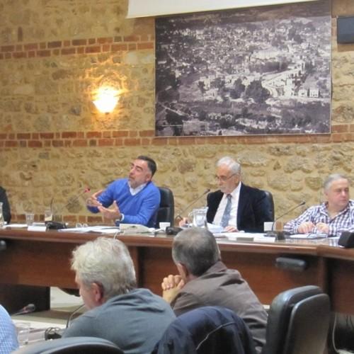 Αγροτικές κινητοποιήσεις και προβλήματα των καθηγητών του Δημοτικού Ωδείου Βέροιας μεταξύ άλλων, στο   Δημοτικό Συμβούλιο Βέροιας