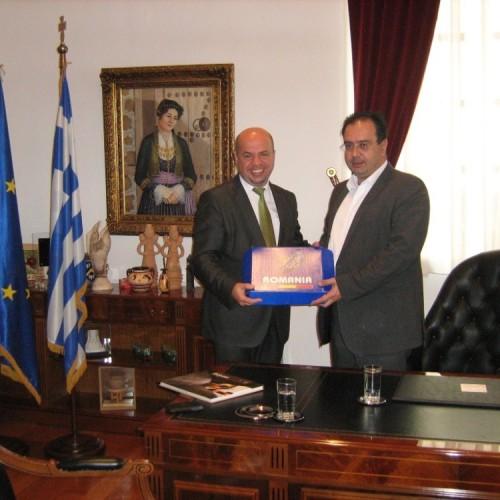 Το Δήμαρχο Βέροιας επισκέφτηκε ο Ρουμάνος Πρόξενος στη Θεσσαλονίκη