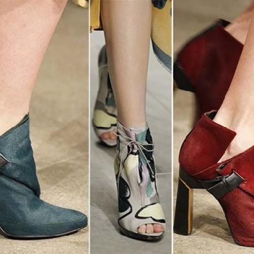 Μόδα: Τάσεις για παπούτσια - μπότες. Φθινόπωρο - Χειμώνας 2014 - 2015
