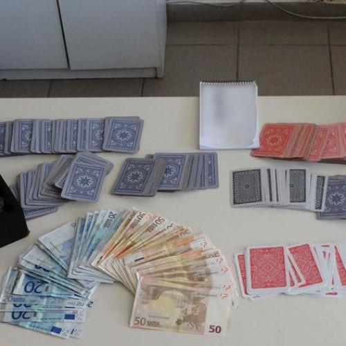 Στην Ημαθία συνελήφθη ιδιοκτήτρια και πελάτες καταστήματος που διενεργούνταν παράνομα τυχερά παιχνίδια