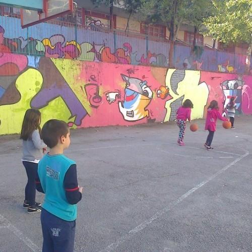 Ζωγραφίζοντας (σ)το 9ο Δημοτικό Σχολείο Βέροιας