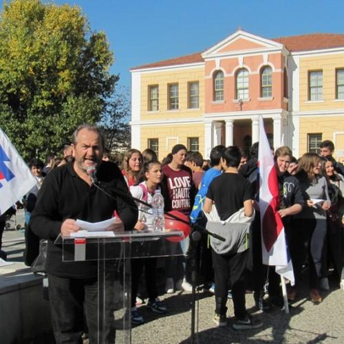 Δυναμική και με τη συμμετοχή μαθητών η απεργιακή συγκέντρωση και πορεία του ΠΑΜΕ, στη Βέροια - Φωτορεπορτάζ