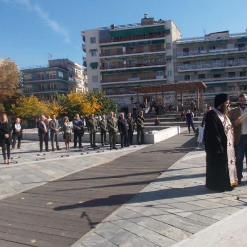 Οι αρχές της Βέροιας τίμησαν την επέτειο του Πολυτεχνείου