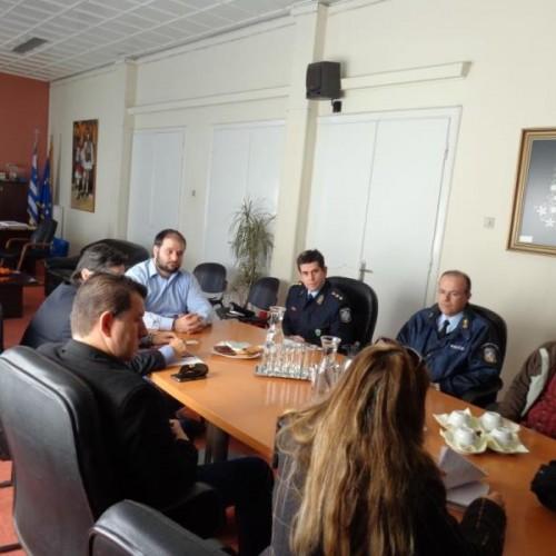 Σύσκεψη στη Νάουσα για το υπό κατάργηση Αστυνομικό Τμήμα