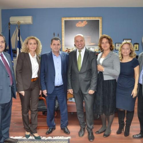 Στην Ημαθία, προσκεκλημένος της Περιφερειακής Ενότητας, ο γενικός πρόξενος της Ρουμανίας στη Θεσσαλονίκη