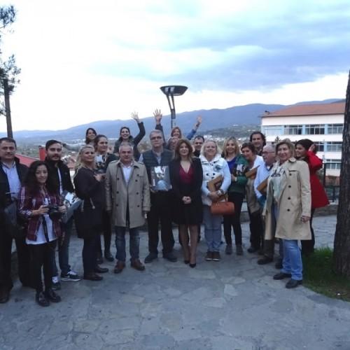 Τούρκοι δημοσιογράφοι και τουριστικοί πράκτορες στη Βέροια