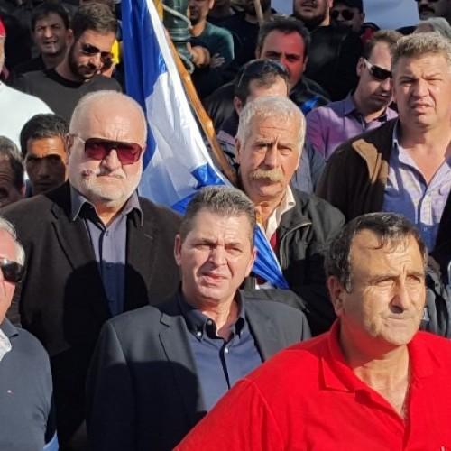 Στο πλευρό των αγροτών στην διαδήλωση στην Αθήνα  οι αντιπεριφερειάρχες Ημαθίας και Πέλλας