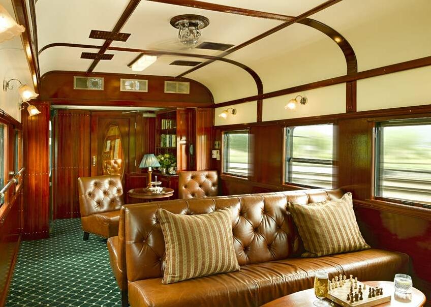 rovos rail club lounge car