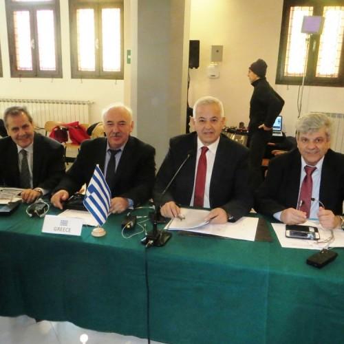 Στη Συνδιάσκεψη των Ευρωπαϊκών Ιατρικών Συλλόγων στο Σαν Ρέμο παρουσιάστηκε η κατάσταση στη Ελλάδα και στο χώρο της Υγείας, από τον Αναστάσιο Βασιάδη
