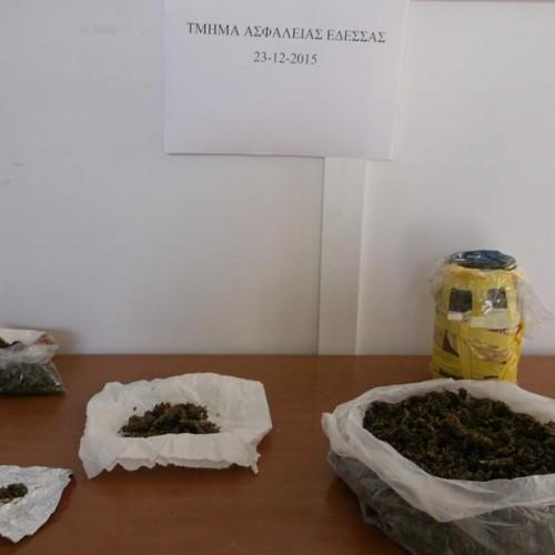 Συνελήφθη   σε χωριό της Πέλλας για ναρκωτικά