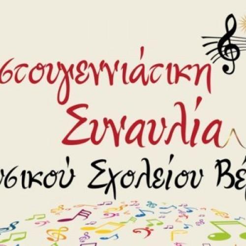 Συναυλία του Μουσικού Σχολείου Βέροιας για την ενίσχυση του Συλλόγου Καρκινοπαθών, Παρασκευή 18 Δεκεμβρίου