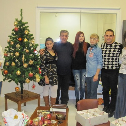 Γιορτινό Χριστουγεννιάτικο πρωϊνό στη Στέγη Δημιουργίας του ΣΟΦΨΥ Ημαθίας, Κυριακή 20 Δεκεμβρίου