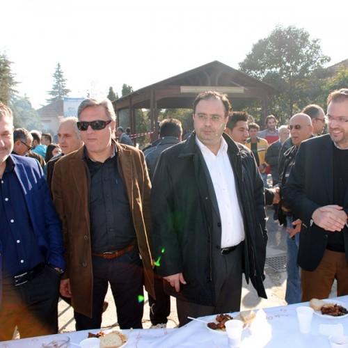 Ο Θανάσης Θεοχαρόπουλος στις εκδηλώσεις και τα πολιτιστικά δρώμενα της Ημαθίας