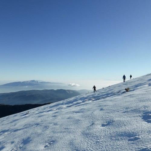 Ανάβαση στον Όλυμπο από τη βεροιώτικη ορειβατική ομάδα Uphill Greece μέχρι την κορυφή Πάγος στα 2682μ
