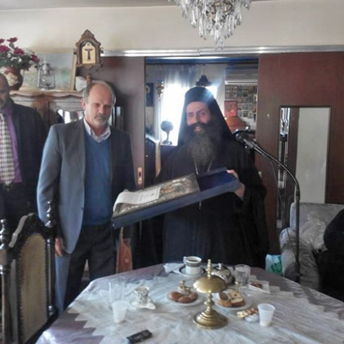 Η Ιερά Μονή Καλλίπετρας τίμησε τον Πρόεδρο του Συλλόγου Φίλων της Μονής, Κόγια Νικόλαο