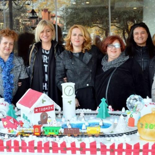 """Στο ΚΕΜΑΕΔ Βέροιας  το """"Ζαχαρένιο Χριστουγεννιάτικο Χωριό"""", στα πλαίσια της «2ης Γιορτής Σοκολάτας, στη Βέροια"""