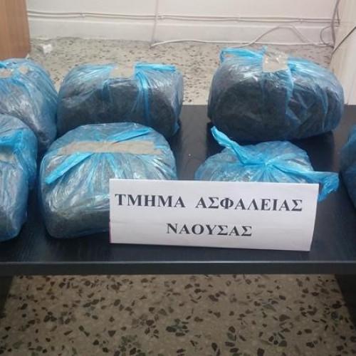 Συλλήψεις στη Νάουσα για λαθραίο καπνό