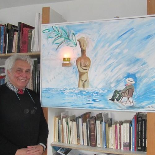 """Ο Γιάννης Ναζλίδης στον Ιανό. Ο """"συλλέκτης πολυτίμων ουσιών"""" κατεβαίνει με τα έργα του στην Αθήνα"""