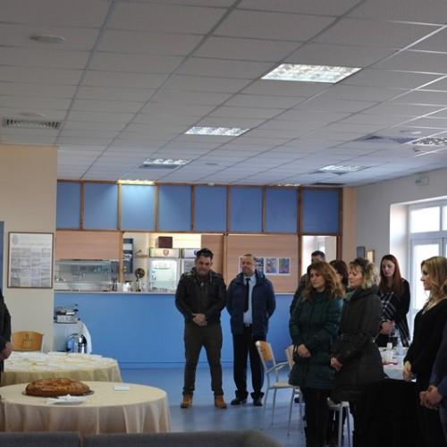 Η κοπή πίτας στο Kέντρο Επιμόρφωσης Ελληνικής Αστυνομίας, στη Βέροια