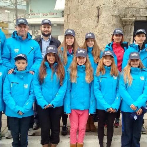Στο Ίνσμπουργκ της Αυστρίας οι χιονοδρόμοι της Νάουσας για τους Παγκόσμιους Παιδικούς Αγώνες Πόλεων