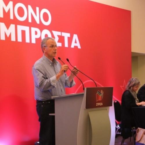 Ο Γραμματέας της ΚΕ του ΣΥΡΙΖΑ Π. Ρήγας στην Ημαθία – Πολιτική συγκέντρωση στη Βέροια, Παρασκευή 29 Ιανουαρίου