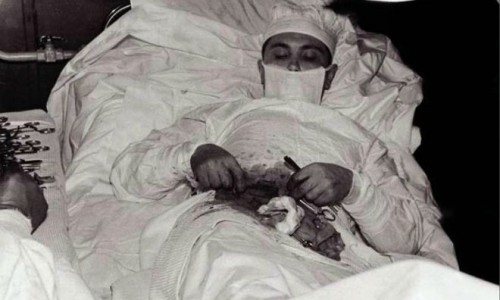 Ο γιατρός που χειρούργησε τον εαυτό του!