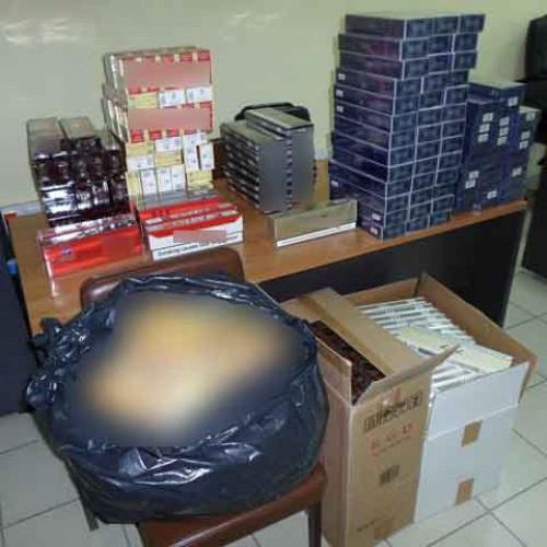 Συνελήφθη για λαθραία τσιγάρα - Κατασχέθηκαν 2.630 πακέτα και 200 συσκευασίες καπνού