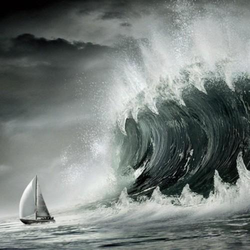 """""""Αναμένοντας την τέλεια καταιγίδα"""" του Κώστα Λαπαβίτσα"""