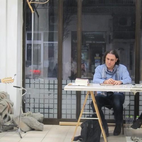 Μια ατμοσφαιρική συμπόρευση ποίησης, μουσικής, χορού και ζωγραφικής στη Γκαλερί Παπατζίκου στη Βέροια
