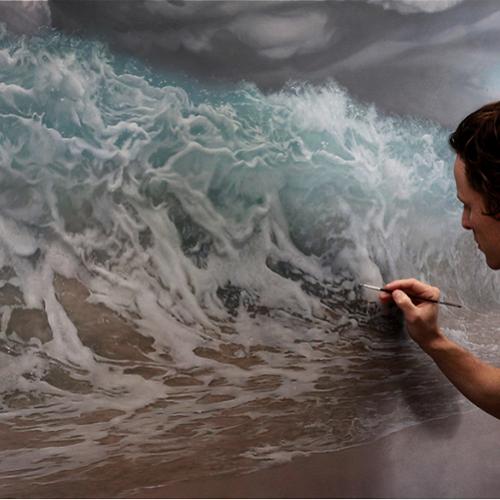 Joel Rea: Ο ζωγράφος που με το πινέλο του ζωντάνεψε την θάλασσα...
