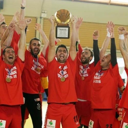 Ο Κώστας Καλαϊτζίδης συγχαίρει το Φίλλιπο Βέροιας για την κατάκτηση του κυπέλλου Ελλάδας στο Χάντμπολ