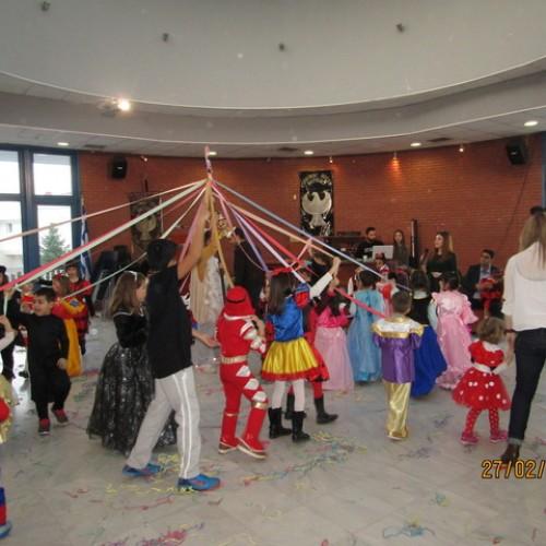 Μεγάλη επιτυχία σημείωσε το αποκριάτικο παιδικό πάρτι της Ευξείνου Λέσχης Βέροιας