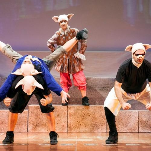 """Ευγένιου Τριβιζά """"Τα γουρουνάκια κουμπαράδες"""" από την Παιδική Σκηνή του """"Νέου Θεάτρου"""", Βέροια Κυριακή 28 Φεβρουαρίου"""