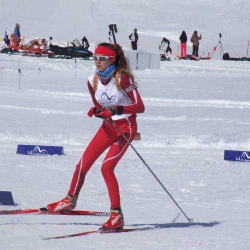 Στους Χειμερινούς Ολυμπιακούς Αγώνες Νέων στη Νορβηγία, η Αναστασία Μάντσιου, αθλήτρια του ΕΟΣ Νάουσας