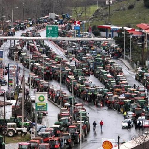 Ανοίγουν τα μπλόκα  των αγροτών σε Τέμπη και τελωνείο Δοϊράνης