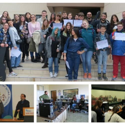 Νότες Ειρήνης στον αέρα του μαθητικού ραδιοφώνου από το ΑΤΕΙ Θεσσαλονίκης από τους μαθητές του Μουσικού Σχολείου Βέροιας