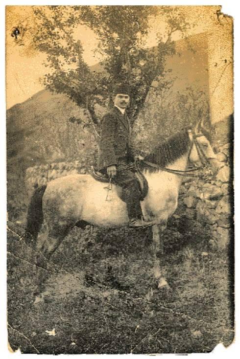 Μίλτος Μανάκις αδελφός του Γιαννάκη, στη Βέροια