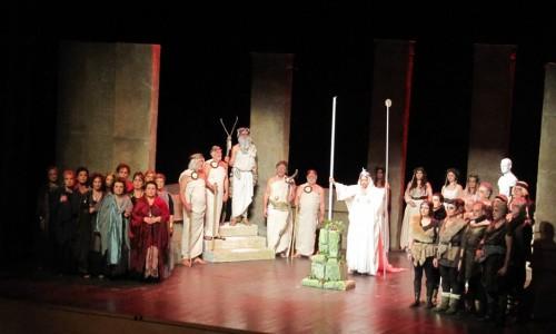 """Η """"Νόρμα"""" του Μπελίνι , η όπερα του πάθους, χθες στο Χώρο Τεχνών  Βέροιας"""