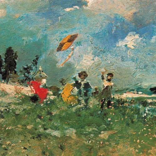 11 πίνακες διάσημων ζωγράφων με θέμα το χαρταετό