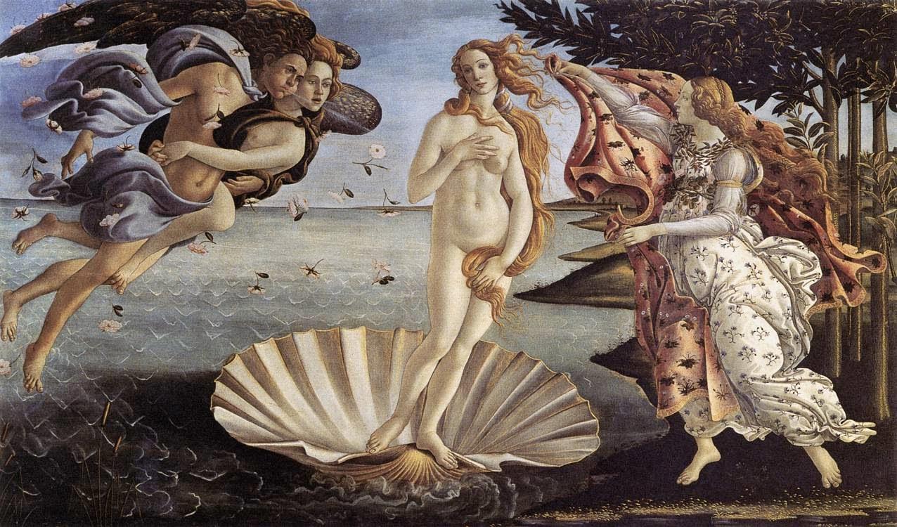 V Η Γέννηση της Αφροδίτης (1485)