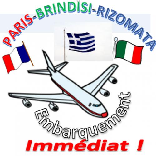 Γ' Λυκείου Ριζωμάτων Ημαθίας. Παρίσι, Πρίντιζι, Ριζώματα!! Γαλλικό πρόγραμμα e – twinning