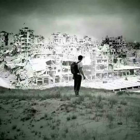This is Homs now