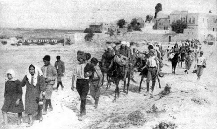 Ελληνοαρμενικά καραβάνια από την Αλεξανδρέττα το 1939