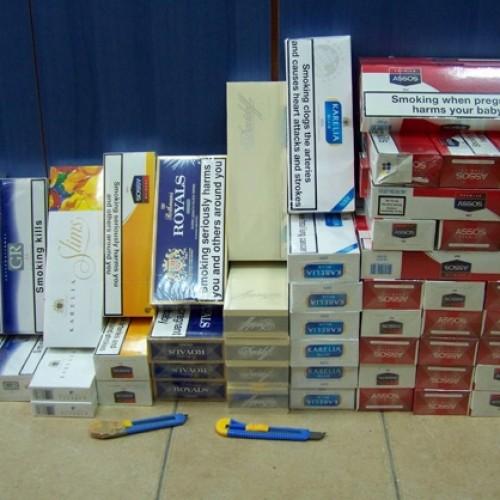 Συλλήψεις στη Βέροια για  λαθραία τσιγάρα