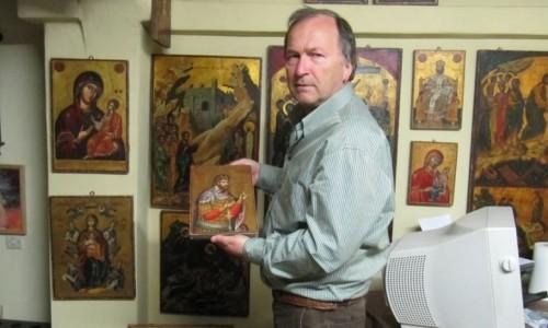 Ο αγιογράφος Συμεών  Ματσκάνης. Μετουσιώνοντας το χρώμα σε πνεύμα