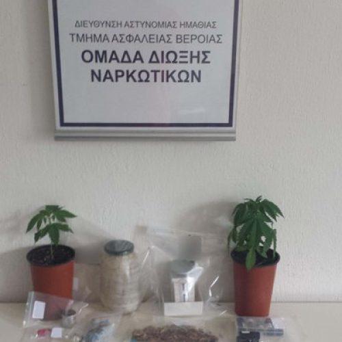 Συνελήφθη για διακίνηση και  καλλιέργεια ναρκωτικών
