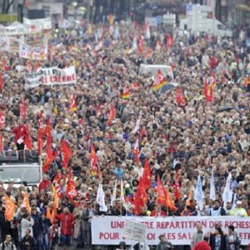 """""""Για τις εργατικές κινητοποιήσεις στη Γαλλία"""" γράφει ο Σίμος Ανδρονίδης"""