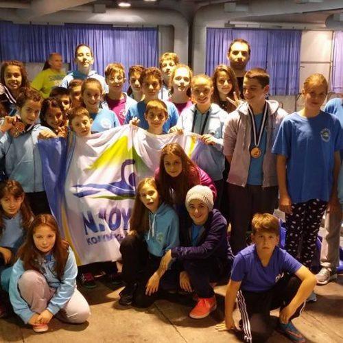 """Η Κολυμβητική Ακαδημία """"Νάουσα""""  στο διεθνές κολυμβητικό meeting  """"ΛΕΥΚΟΣ ΠΥΡΓΟΣ""""  –  Αναλυτικά αποτελέσματα"""
