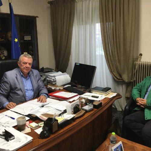Επίσκεψη του Προέδρου του Ελληνικού Οργανισμού Ανακύκλωσης (Ε.Ο.ΑΝ.) στο Δήμο Αλεξάνδρειας